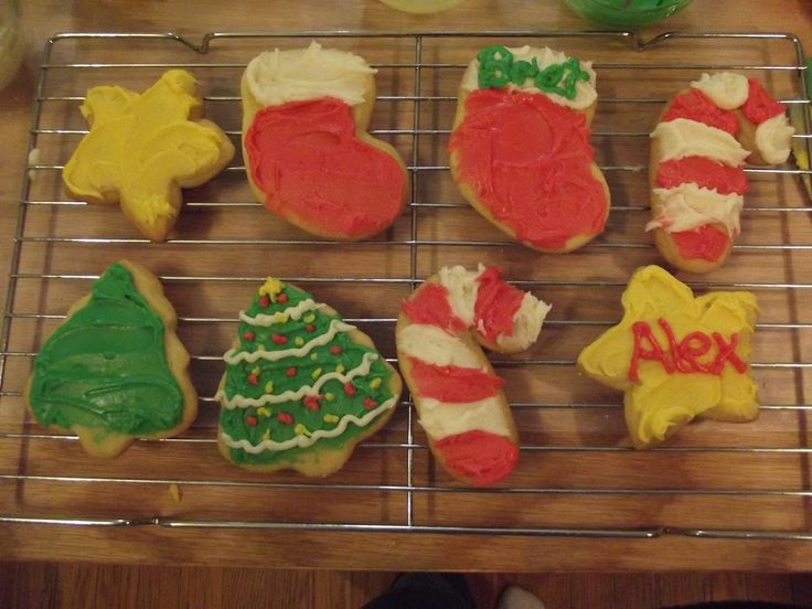 Beautiful Christmas Cookies   The Hillbilly Kitchen