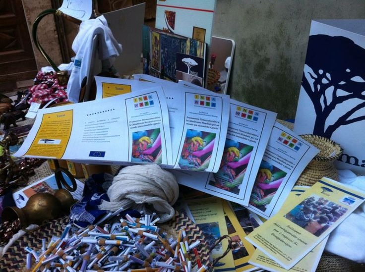 "Tamat disseminating Injawara activities and results at the ""Altro Cioccolato"" event in Perugia."