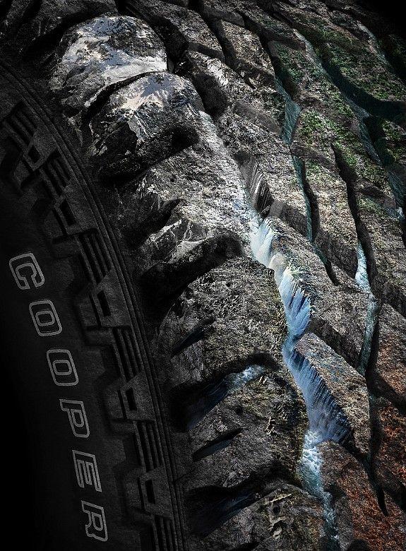 Print ad: Cooper Tires: All terrain tyres