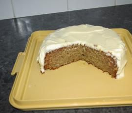 Recipe Banana Cake with Cream Cheese Icing by ange@fitzsimmons.com.au - Recipe of category Baking - sweet