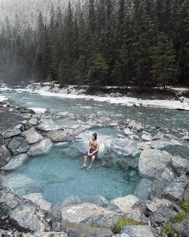 Hot springs road trip through the Kootenays - Lussier Hot Springs in Whiteswan Provincial Park.