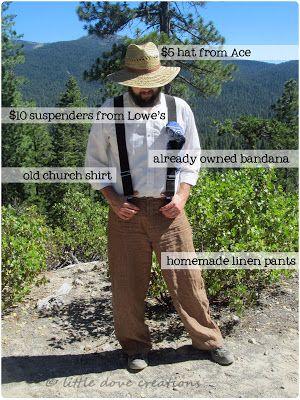 Little Dove Creations: pioneer trek: pioneer clothing for men and women