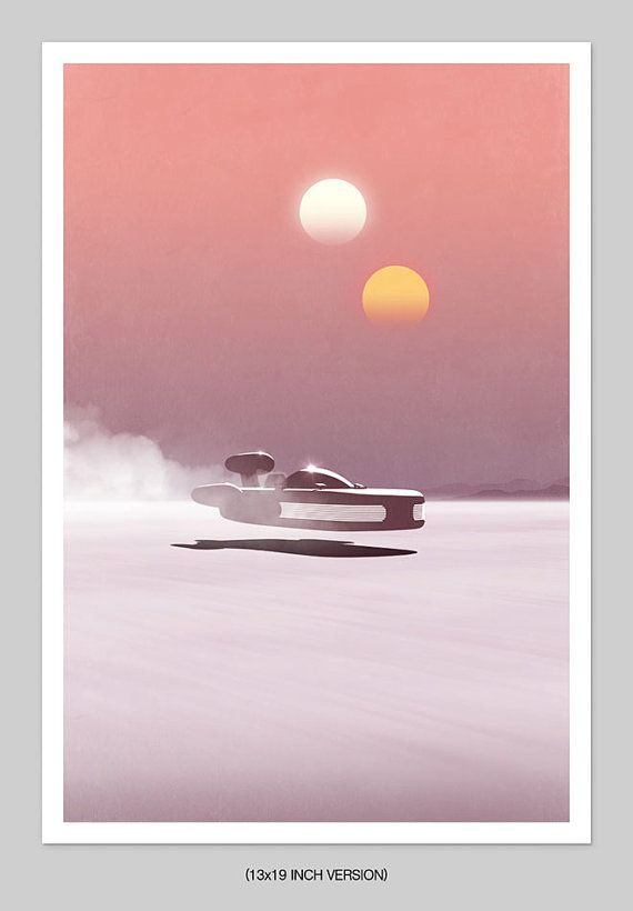 Setting Suns Print by TheArtLoungeUK on Etsy