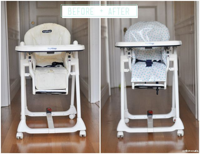 C: DIY high chair cover tutorial