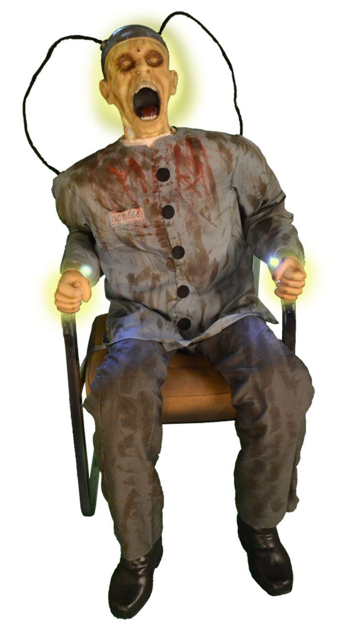 Death Row Animated Halloween Prop