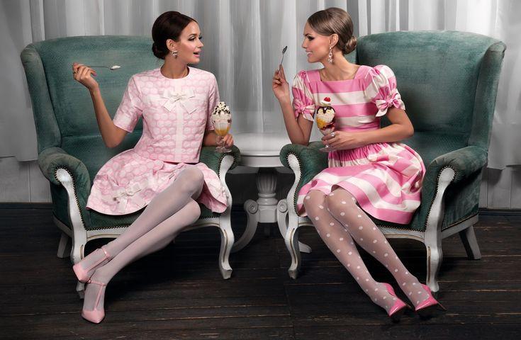 Pintel Store — Women Dresses & Suits #editorials #fashion #shooting #Pintel #pink #dress #girl #cafe