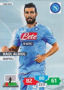 2013-14 Panini Calciatori Adrenalyn XL #198 Raul Albiol Front