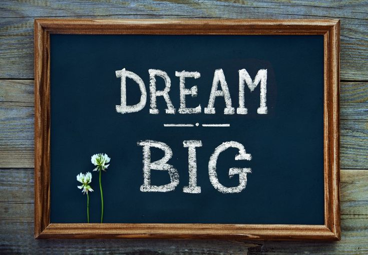 Dear Dreamer: A letter to all those with big dreams in their hearts!