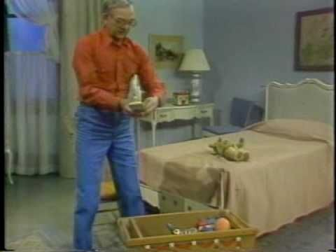 mr. dressup. loved loved loved this show. i loved watching him draw and seeing what was inside the tickle trunk!