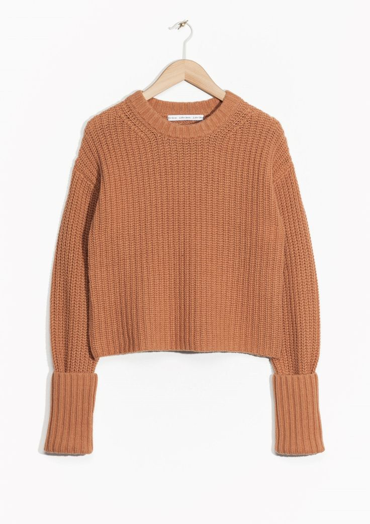 & Other Stories | Cropped Wool Sweater