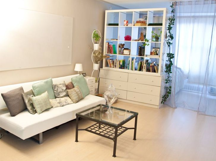 Light your floors well to make your space feel bigger, and 5 other clever tips to make your apartment feel bigger.