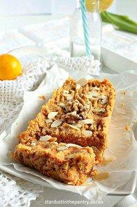 No bake Karottenkuchen. Zuckerfrei, vegan und glutenfrei!