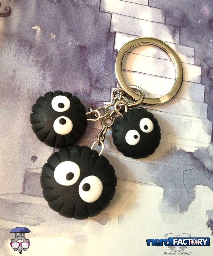 Nerino key ring, hand-made! http://www.thenfactory.com/prodotto/nerini-del-buio-portachiavi/