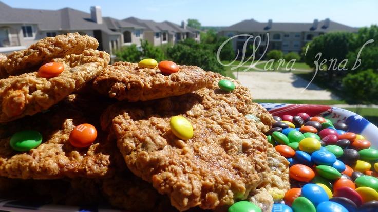Want this recipe like us on Facebook https://www.facebook.com/wara3enab: Deens Monsters, Deen Monsters, Monsters Cookies, Recipes, Cookies بولا