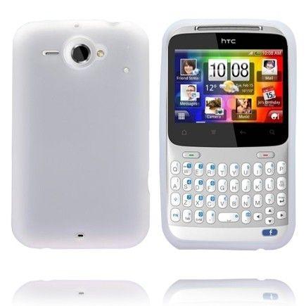 Soft Shell (Valkoinen) HTC ChaCha Silikonisuojus