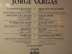 "Jorge Vargas y Lupita Dalessio ""Dime que me quieres"" Mariposa"" LP SEALED NEW   eBay"