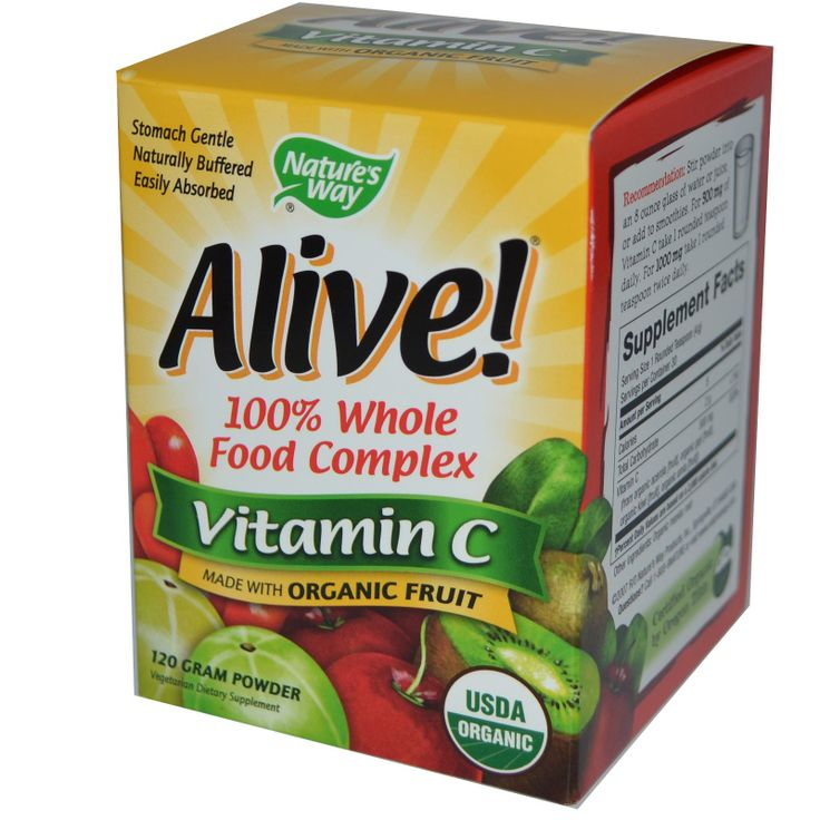 Doesn't bother my stomach.  Nature's Way, Alive!, Vitamin C, Powder, 120 g