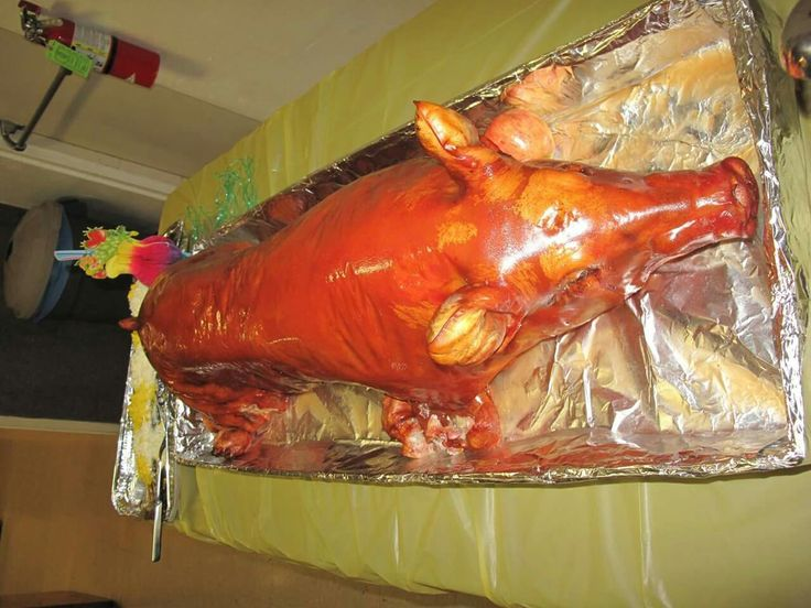 Is not a luau party without a lechon