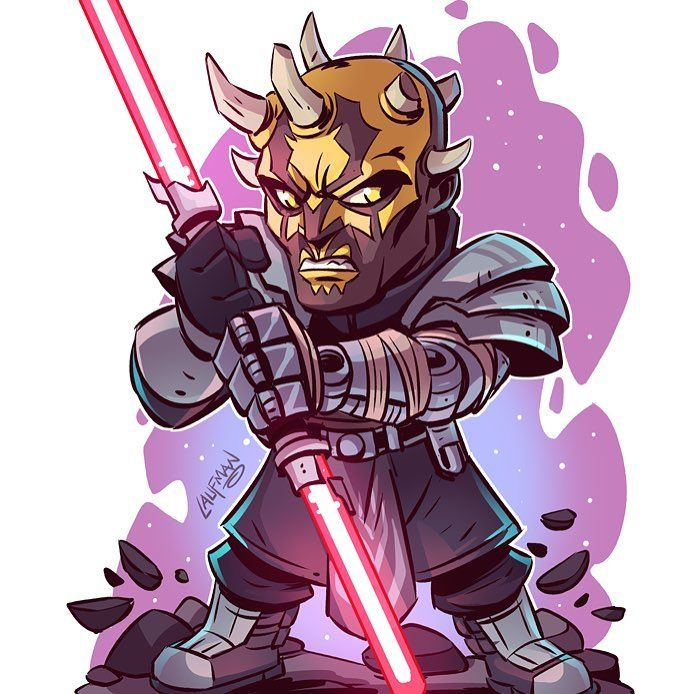 5 776 Me Gusta 27 Comentarios Derek Laufman Dereklaufman En Instagram Savage Opress From Clone Wars Prints Available Now At Www Dereklaufman Com Link