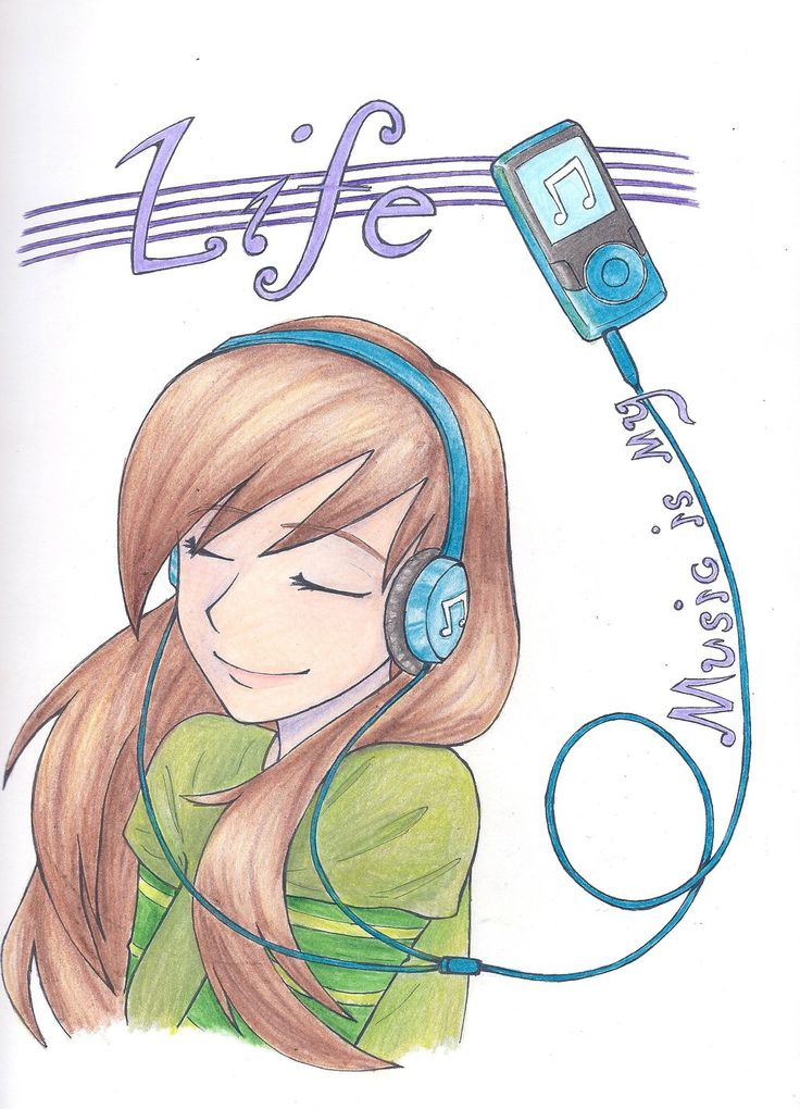 music drawings deviantart cool drawing easy loz anime pencil sketch simple manga musical draw sketches awesome colour discover saves fan