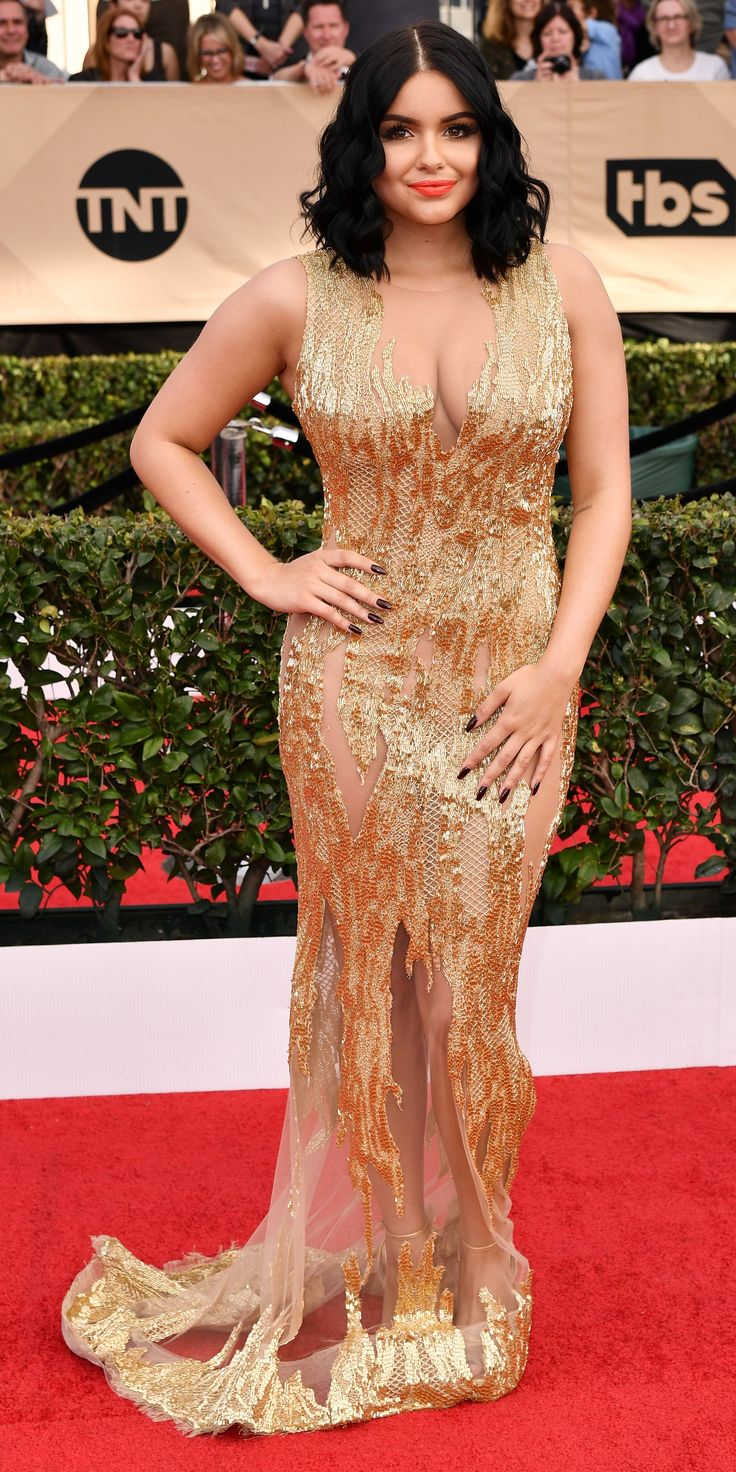 See All the Celebrity Looks from the 2017 SAG Awards Red Carpet - Ariel Winter from InStyle.com