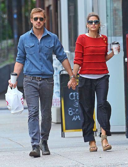 Eva Mendes y Ryan Gosling zanjan los rumores de ruptura