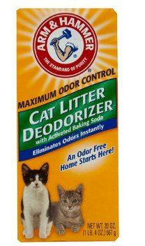 Arm  Hammer Cat Litter Deodorizer With Activated Baking Soda
