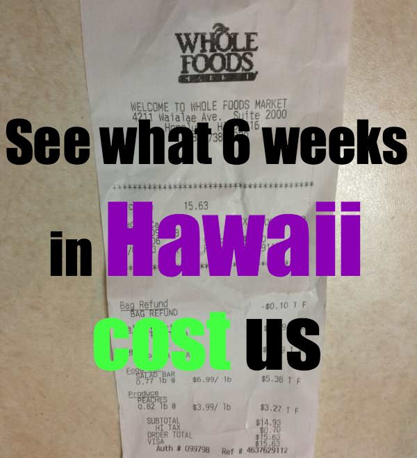Hawaii Budget - Our Digital Nomad Budget for 6 Weeks in Hawaii - rtw Travel Guide #travel #traveltips