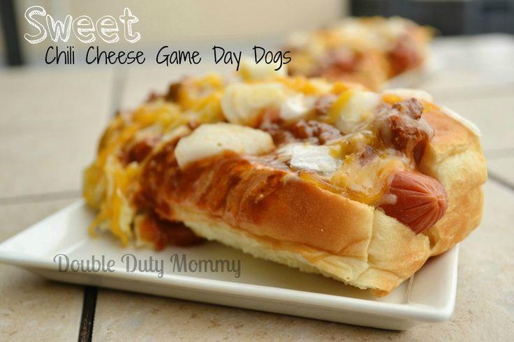 Sweet Chili Cheese Game Day Dog