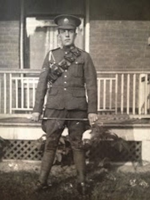 CEF (Canadian Expeditionary Force) Soldier in WW1 (Ernest Simpson)