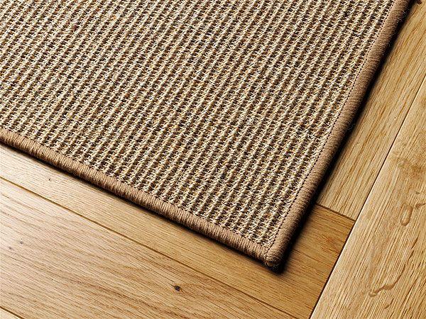 Sisalteppich umkettelt nach Maß