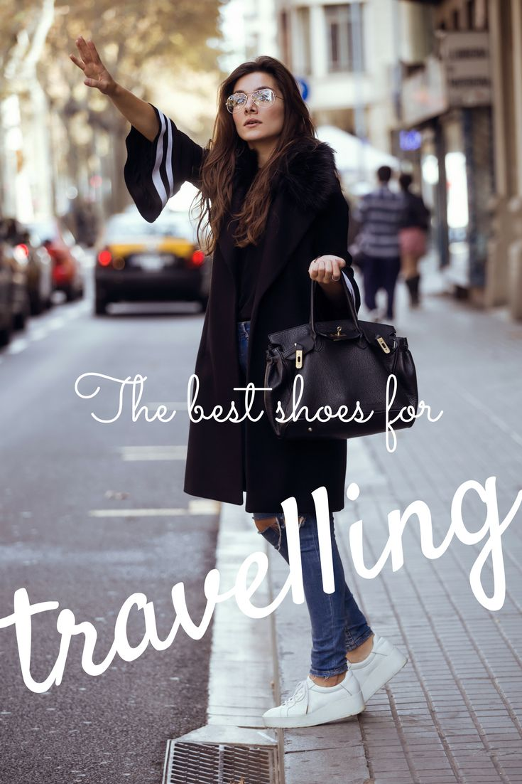 I've put together a collection of the best walking shoes, boots, sandals and shoes for travel.  The best shoes for travel can still be stylish - regardless of your age or style #shoes #packing #travel