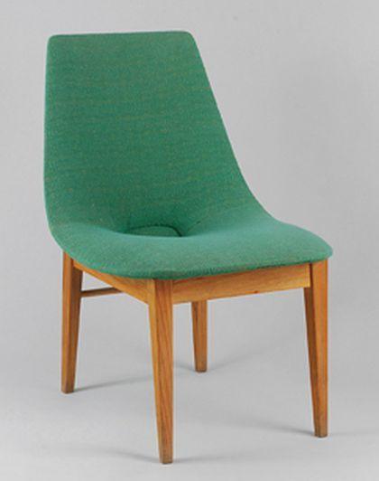 Krzesło Muszla, proj. Hanna Lachert, 1956