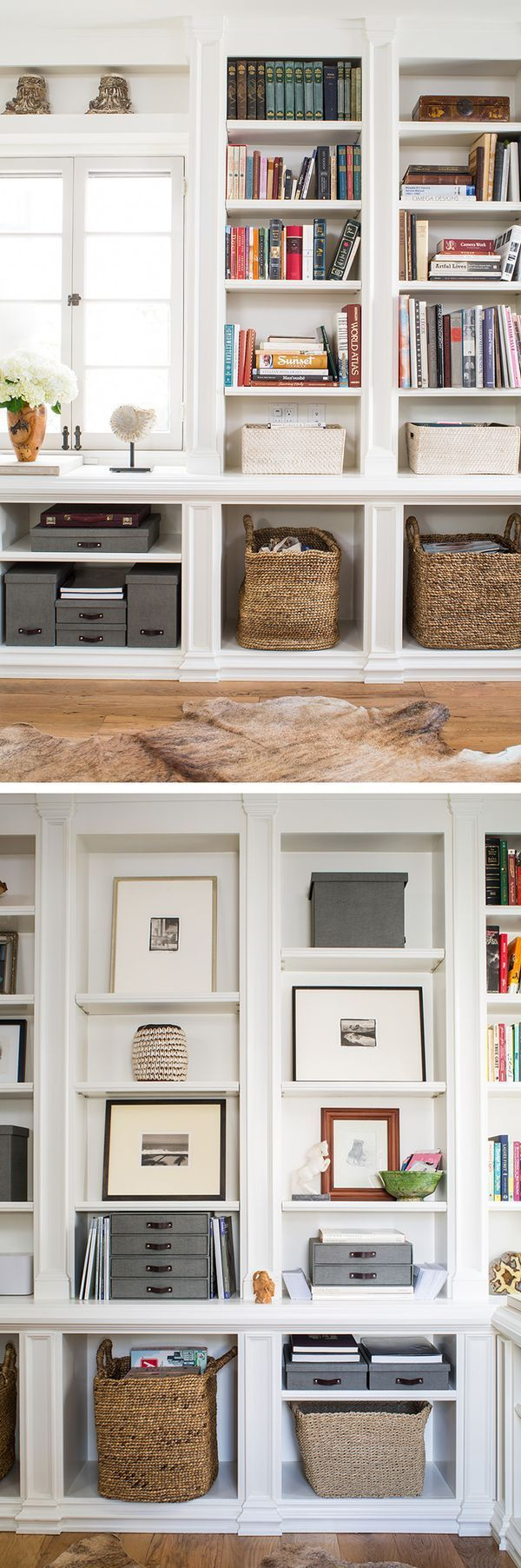 See how we gave this home office an overhaul with our products!