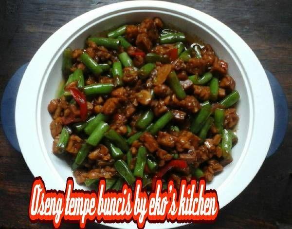Resep Oseng Tempe Buncis Oleh Khotimah Kristiyanto Resep Makanan Tempe Resep