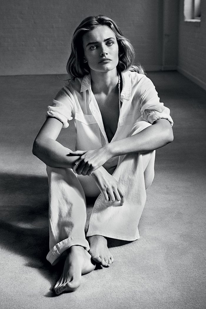 Edita Vilkeviciute by Lachlan Bailey for Industrie Magazine #6, styling by Clare Richardson.