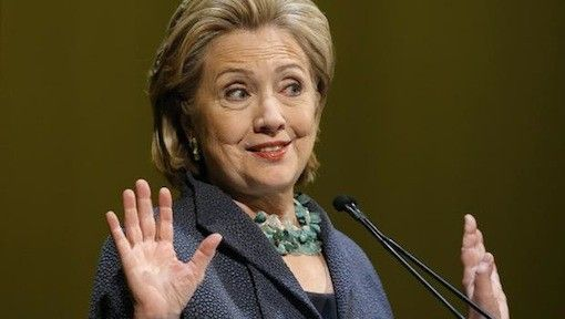 HILLARY'S WAR WHOOP  If you're one of the millions of Americans who think Hillary Clinton would make a lousy president, then pat yourself on the back because she pretty much proved it yesterday. In a presentation…