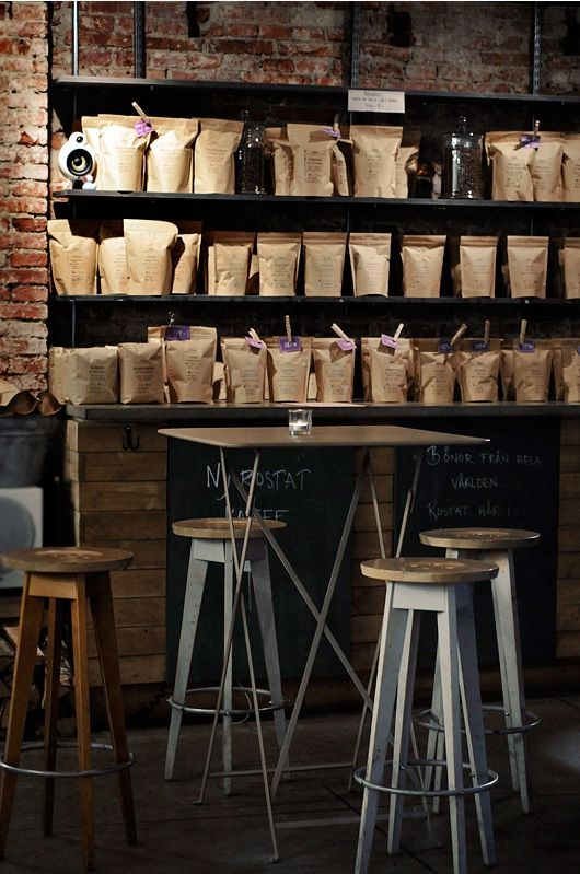 Da Matteo, design, interior, coffee shop, bar style, brown paper packaging