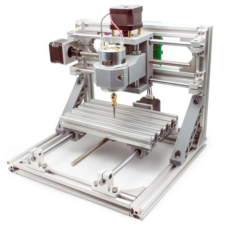 LinkSprite  - DIY CNC 3 Axis Engraver Machine PCB Milling Wood Carving Router Kit Arduino Grbl, $199.00 (http://store.linksprite.com/diy-cnc-3-axis-engraver-machine-pcb-milling-wood-carving-router-kit-arduino-grbl/)