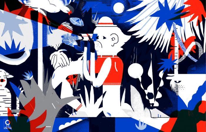 Lök Zine è un'etichetta indipendente che pubblica libri e riviste, organizza eventi e mostre e contemporaneamente celebra il meglio dell'illustrazione e del fumetto contemporaneo.