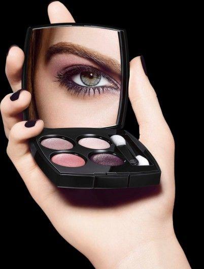 Chanel presenteert oogschaduw-kleuren geïnspireerd op Tweed-stof
