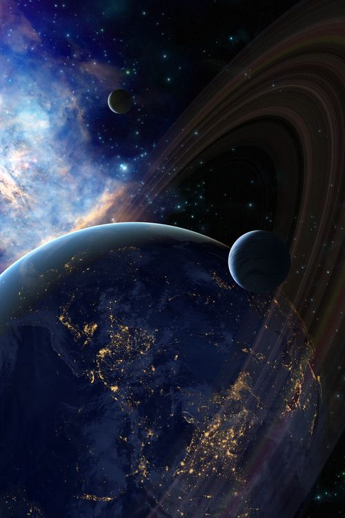 25 Mind Blowing Space Art Concepts of Cosmic Scenes