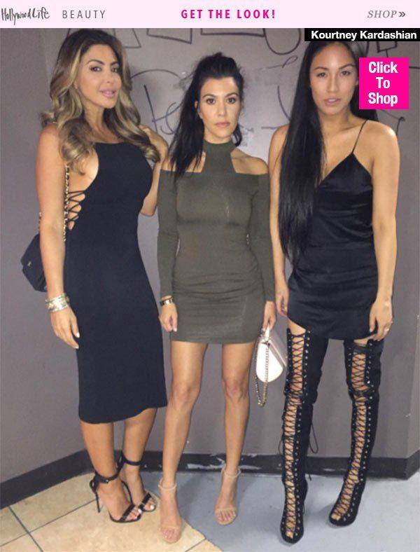 Kourtney Kardashian Thinner Than Ever In Miami — Her Workout To Drop 15Pounds