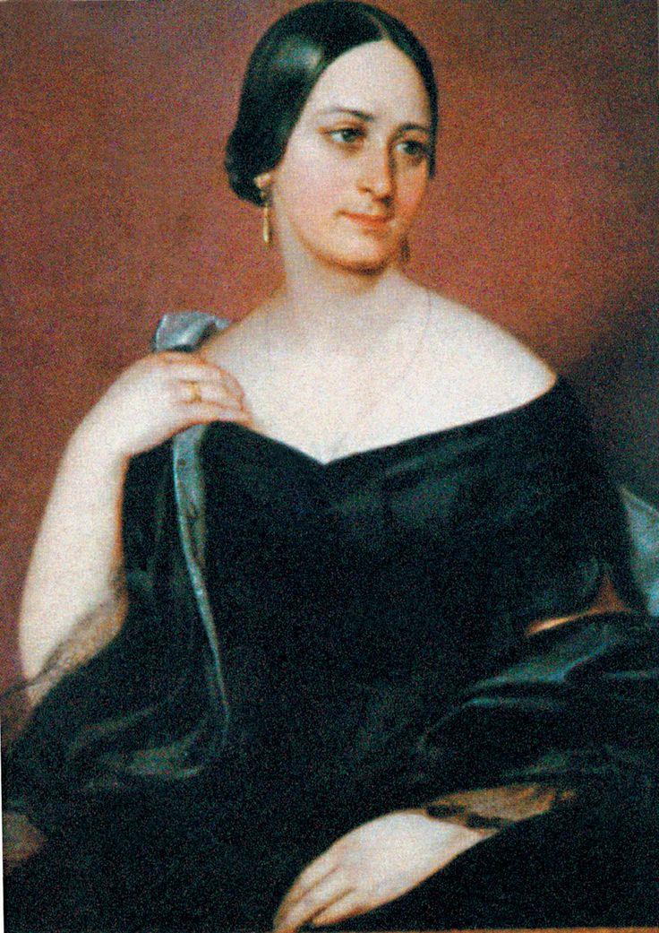 Czech writer Božena Němcová