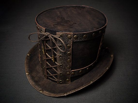 Hey, I found this really awesome Etsy listing at https://www.etsy.com/listing/206232089/steampunk-victorian-top-hat-tophat-men