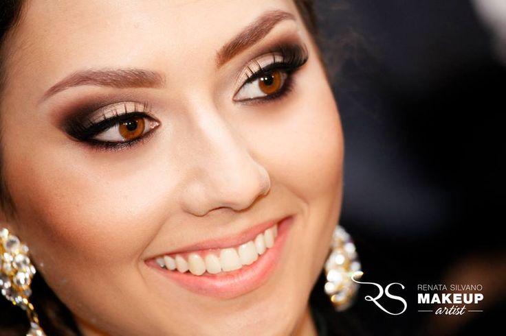 Maquiagem linda para noiva