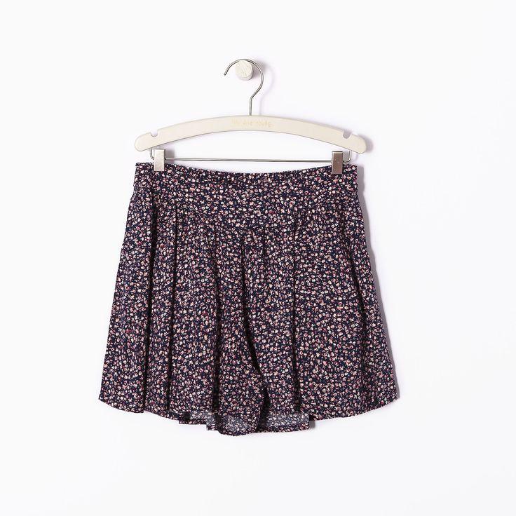 Jupe culotte fille IKKS (XF26084) | Vêtement WAY Fille Eté 15