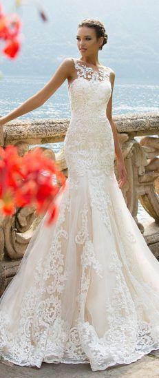 Wedding Dress by Milla Nova White Desire 2017 Bridal Collection - Amalia5-2000x1333