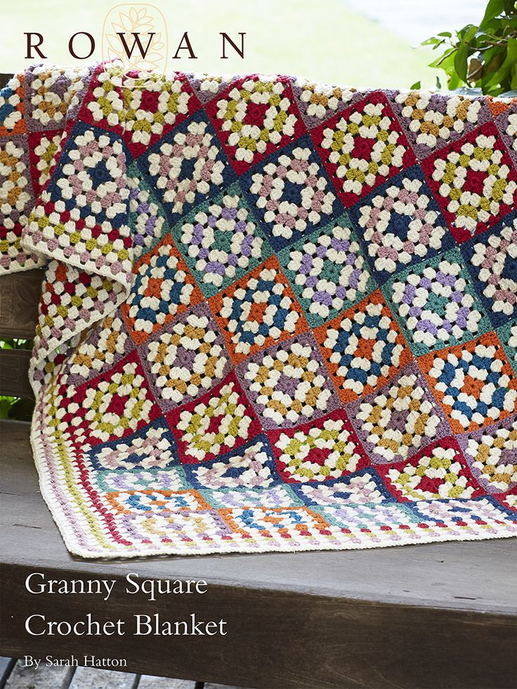 Knitting Granny Squares For Beginners : Best images about rowan crochet on pinterest free