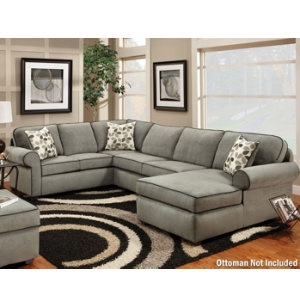 I want a charcoal grey sectional SO BAD!  sc 1 st  Pinterest : sectional so - Sectionals, Sofas & Couches